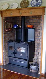 Wagener Cooker Slow Combustion Wood Burning Range