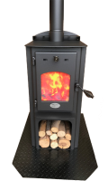 Wagener Sparky CA RRP $2285.00* (Treadle Wall Hearth $230 RRP)